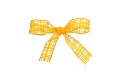 Желтый смычок Стоковые Изображения