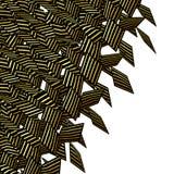 Желтый цвет абстрактного брызга надписи на стенах мягкого померанцовый разделил форму на w Стоковое Изображение RF