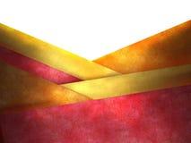 желтый цвет абстрактной предпосылки красный Стоковые Фотографии RF