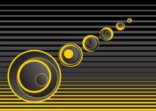 желтый цвет абстрактной предпосылки серый Стоковое Фото