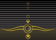 желтый цвет абстрактной предпосылки серый Стоковая Фотография