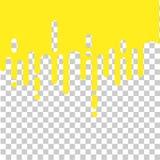 Желтый цвет безшовного конспекта плавя округлил линии иллюстрацию предпосылки перехода полутонового изображения, прозрачное влиян Стоковое Фото