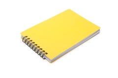 желтый цвет блокнота Стоковые Фотографии RF