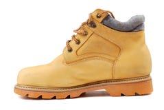 желтый цвет ботинок Стоковые Фотографии RF
