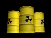 желтый цвет бочонков Стоковые Фотографии RF