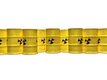 желтый цвет бочонков Стоковые Фото