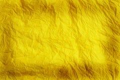 желтый цвет бумаги предпосылки Стоковые Изображения RF