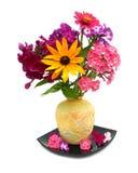 желтый цвет вазы стоковые фотографии rf