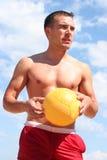 желтый цвет ванты шарика Стоковые Фотографии RF