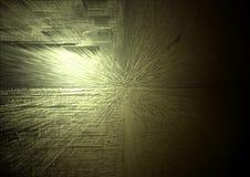 желтый цвет взрыва Стоковые Изображения