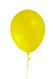 желтый цвет воздушного шара Стоковое Изображение