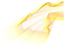 желтый цвет волны Стоковая Фотография