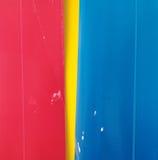желтый цвет голубой бумаги предпосылки красный Стоковая Фотография RF