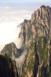 желтый цвет горы Стоковое Изображение