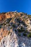желтый цвет горы Стоковые Изображения