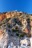желтый цвет горы Стоковая Фотография RF