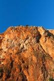желтый цвет горы Стоковая Фотография