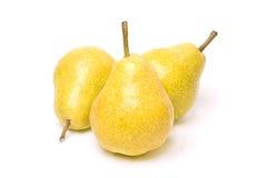 желтый цвет груши Стоковое Изображение RF
