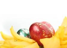 желтый цвет декора Стоковое Изображение