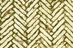 желтый цвет дороги кирпича Стоковые Фотографии RF