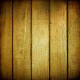 желтый цвет древесины планок Стоковая Фотография RF