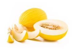 желтый цвет дыни плодоовощ Стоковое Изображение RF