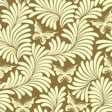 желтый цвет заводов бабочек Стоковое Изображение