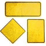 желтый цвет знака стоковое фото