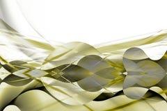желтый цвет золота дела предпосылки белый Стоковое Изображение RF