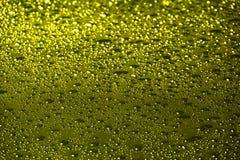 Желтый цвет, золото клокочет абстрактная предпосылка Стоковое Изображение