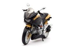 желтый цвет изолированный bike Стоковые Фото
