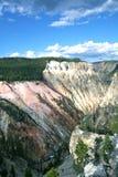 желтый цвет камня национального парка каньона грандиозный Стоковая Фотография RF