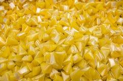 желтый цвет карамельки сладостный Стоковое Изображение