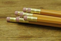 желтый цвет карандаша Стоковое Изображение RF