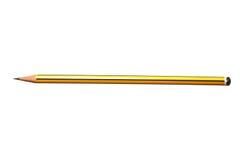 желтый цвет карандаша Стоковое Фото
