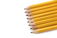 желтый цвет карандашей Стоковые Фотографии RF