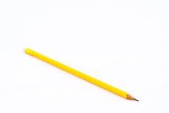 желтый цвет карандаша Стоковое Изображение