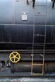 желтый цвет колеса знака опасности Стоковые Изображения RF