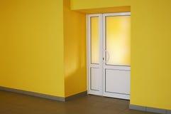 желтый цвет комнаты Стоковая Фотография