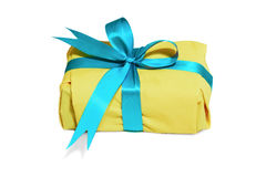 желтый цвет коробки стоковое фото rf