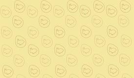 Желтый цвет кролика картины пасхи бесплатная иллюстрация