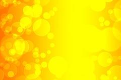желтый цвет кругов Стоковое фото RF