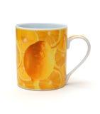 желтый цвет кружки Стоковая Фотография RF