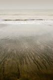 желтый цвет ландшафта пляжа Стоковые Изображения