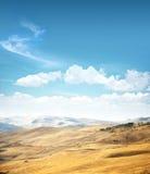 желтый цвет ландшафта Стоковая Фотография
