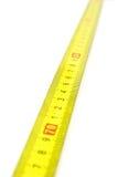 желтый цвет ленты измерения Стоковая Фотография