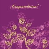 желтый цвет листьев розовый Стоковое Изображение RF