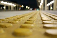 желтый цвет многоточия поверхностный стоковое фото