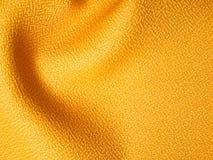 желтый цвет образца ткани Стоковая Фотография RF