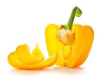 желтый цвет паприки Стоковые Фотографии RF